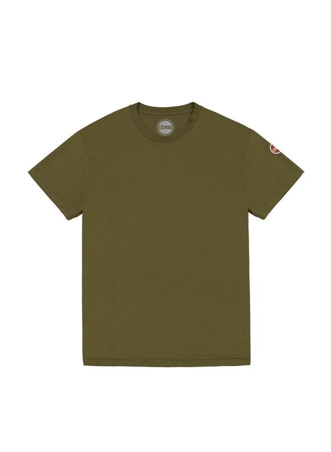 Colmar Round Neck Cotton T-Shirt Artichoke