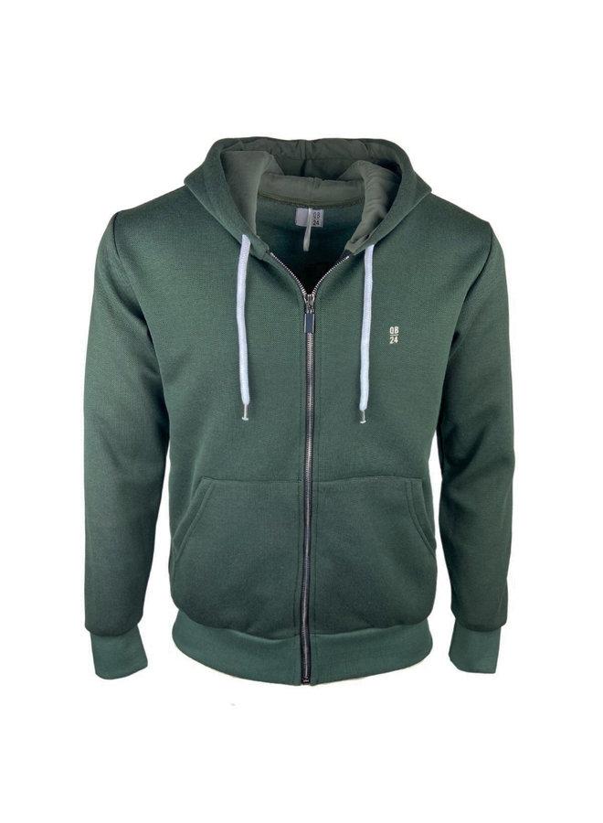 QB24 Sweatshirt Felpa Verde Green
