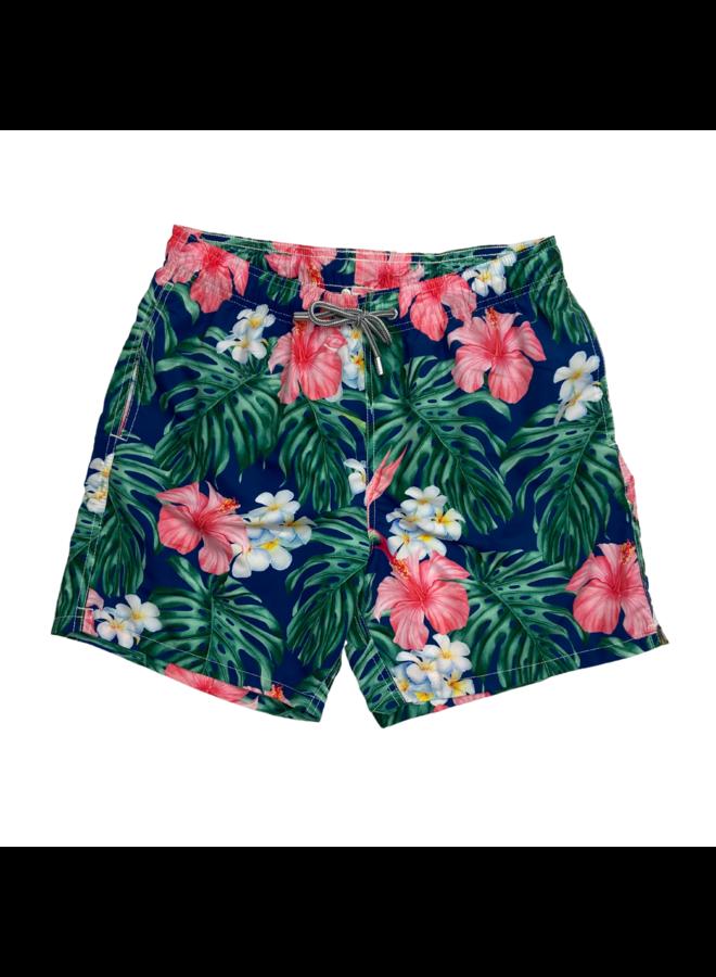 MC2 Saint Barth Swim Shorts Gustavia Flower Maui