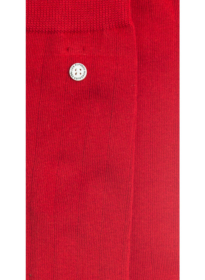Alfredo Gonzales Socks Pencil Classic Red