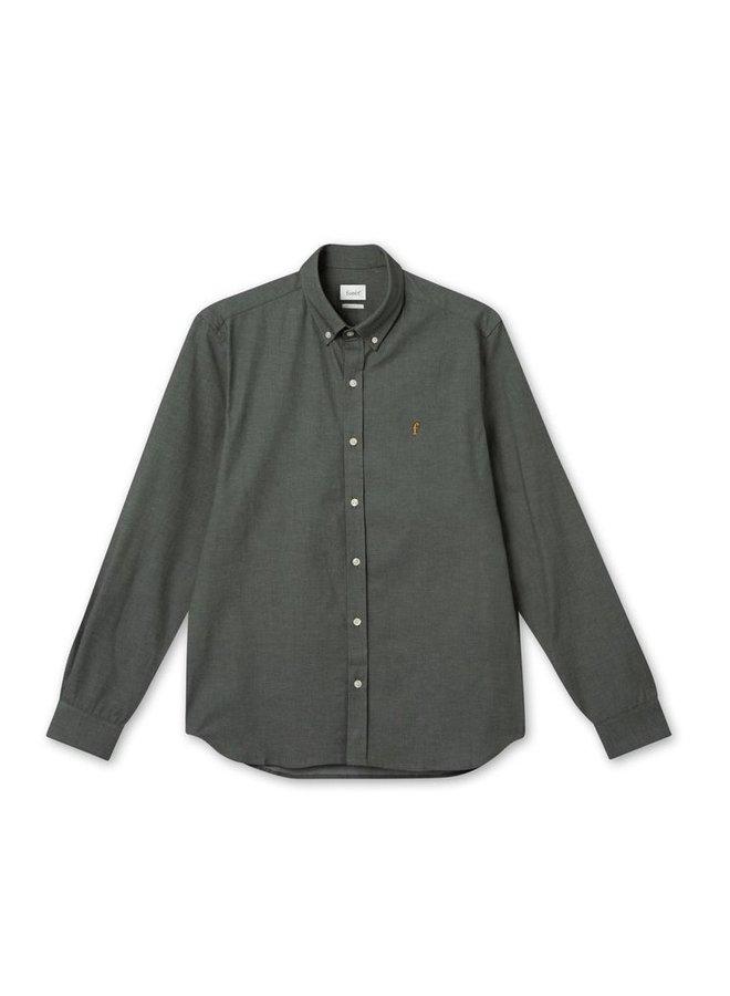 Forét Unit Shirt Dark Green