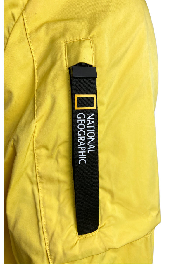 National Geographic Super Light Jacket Yellow