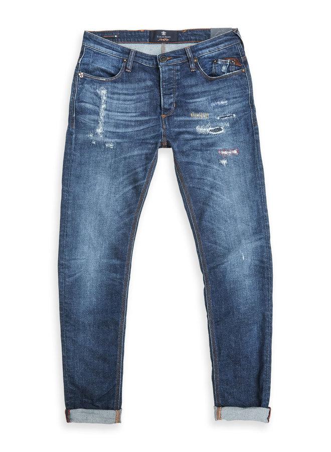 Blue De Genes Vinci Dal Jeans Wash