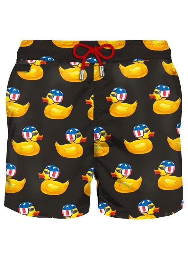 Mc2 Saint Barth Swim Shorts Easy Duck Print
