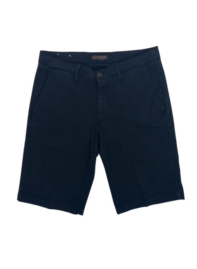 Four. Ten Industry Shorts P333 Navy