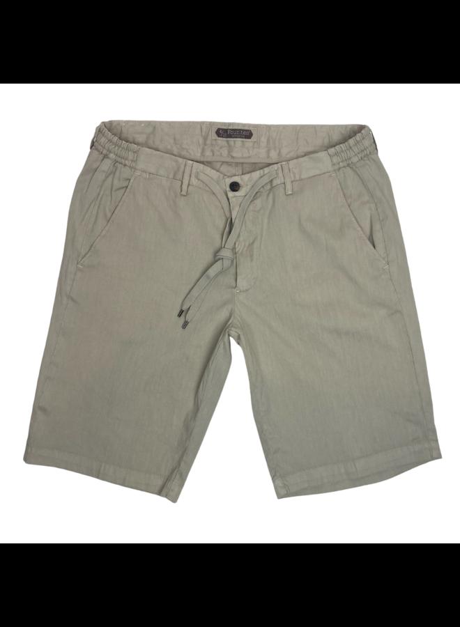 Four. Ten Industry Shorts P350 Linnen Mix Beige