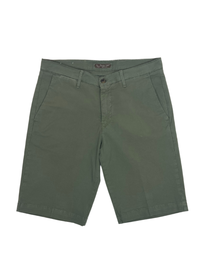 Four. Ten Industry Shorts P333 Olive