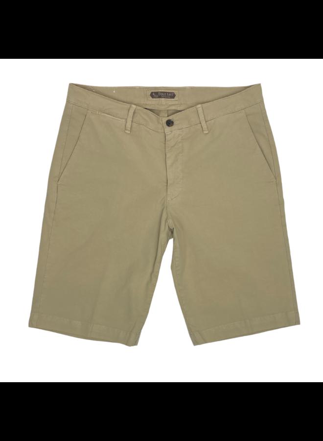 Four. Ten Industry Shorts P333 Beige