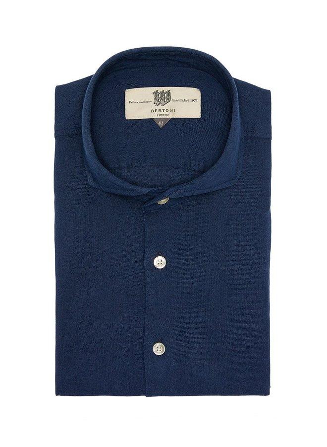 Bertoni Shirt Dress Blue