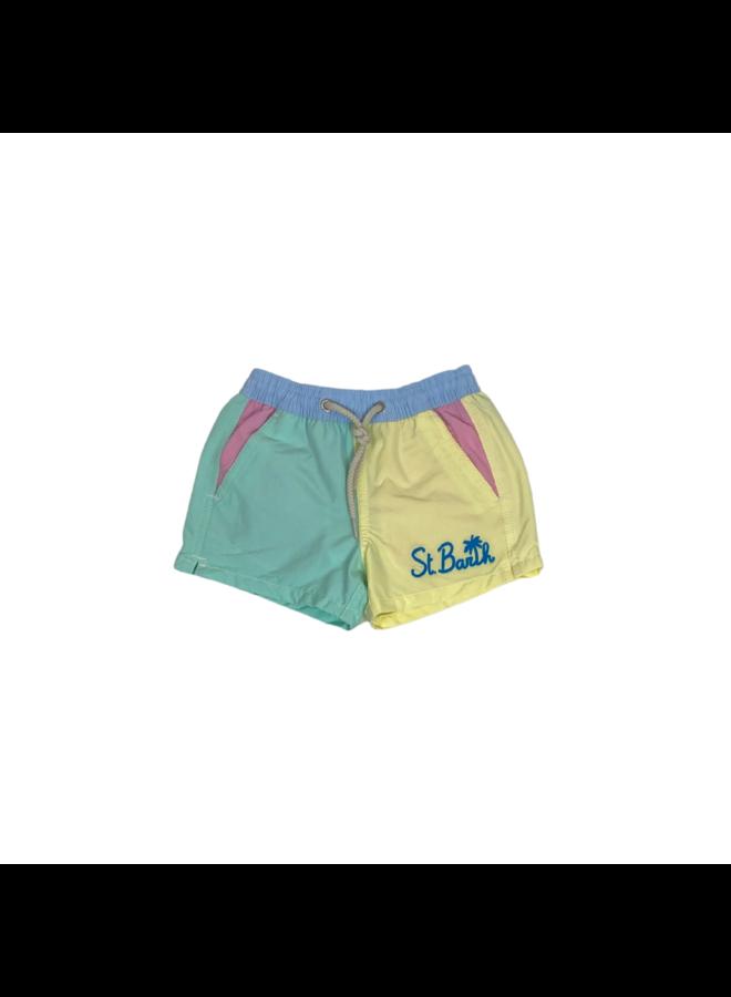 MC2 Saint Barth Swim Shorts Multicolor Kids
