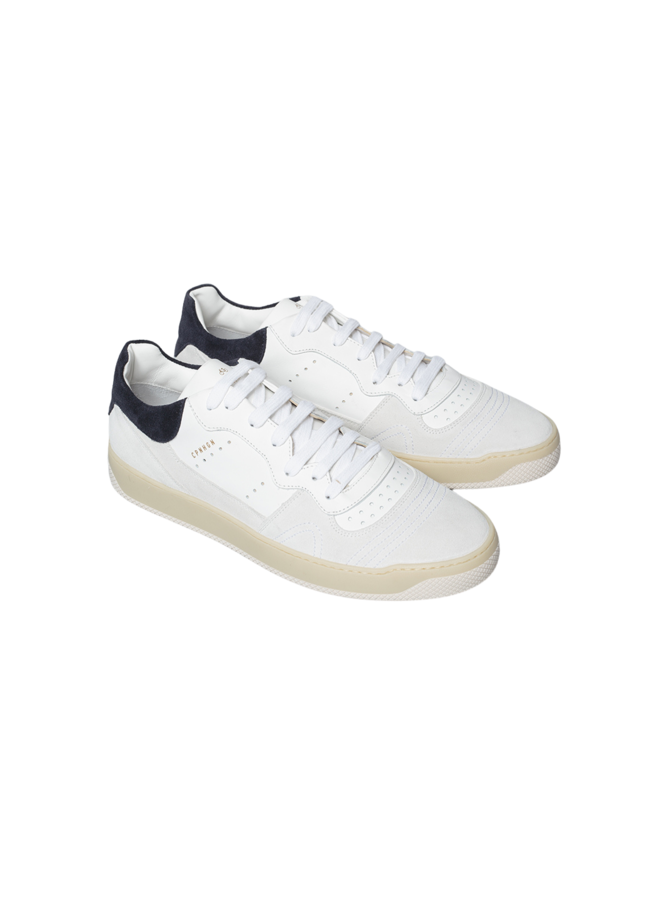 Copenhagen Sneakers Calf White / Navy
