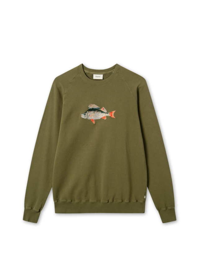 Forét Bait Sweatshirt Army