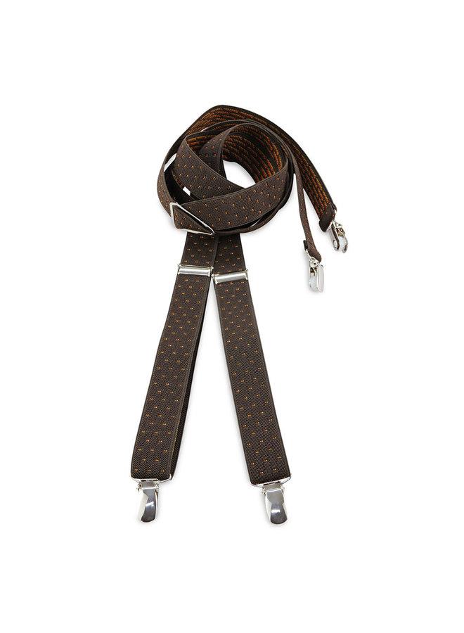 Sir Redman Suspenders La Gacilly Brown