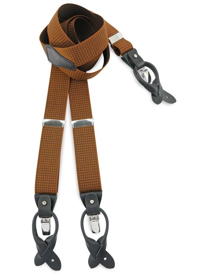 Sir Redman Deluxe Suspenders Kendrick Camel