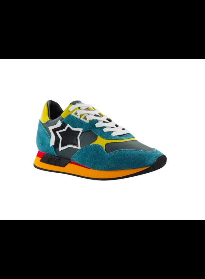 Atlantic Stars Sneaker Draco Blue Yellow 40
