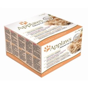 Applaws Applaws cat blik adult multipack chicken selection