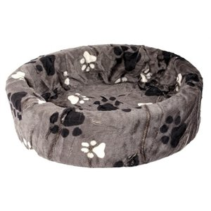 Petcomfort Petcomfort katten/hondenmand bont grijs grote poot