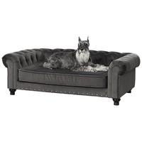 Enchanted pet Enchanted hondenmand / sofa wentworth charcoal grijs