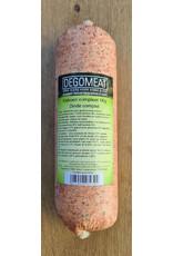 Vers vlees (KVV) voor de hond | Degomeat | Kalkoen compleet | 1000 gram
