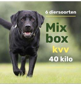 6 dieren mix pakket 40kg