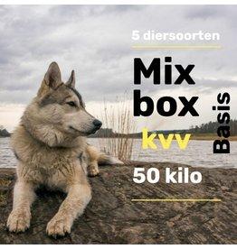 5 dieren pakket 50kg