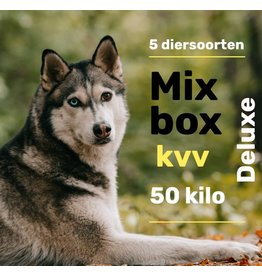 5 dieren deluxe  pakket 50kg