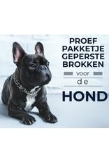 Proefpakketje Geperste Honden Brokken