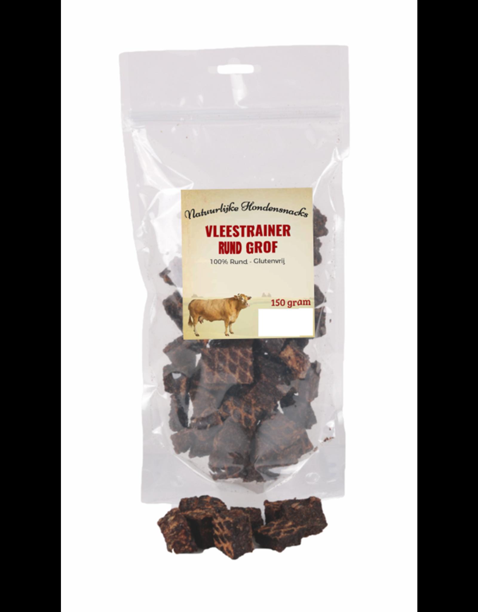Vlees Trainers 150 gram | Vleestrainers zijn van 100%  gedroogd vlees.