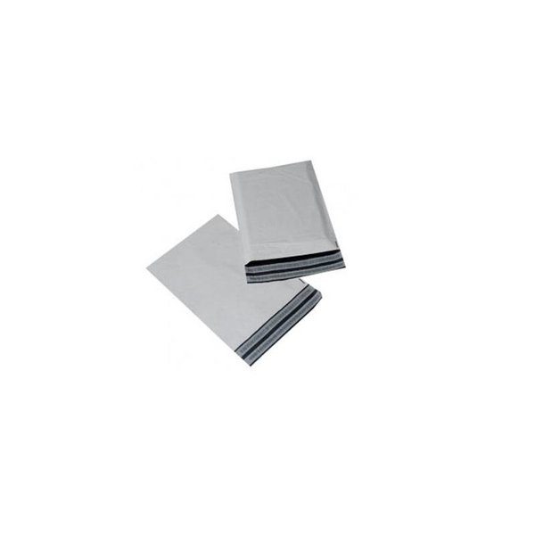 Verzendzakken wit, 50x63,5 + klep en retourstrip