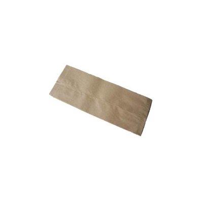 Bread bag, of brown kraft.