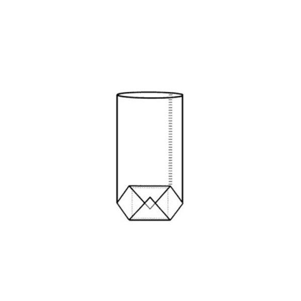 Kruisbodemzakken, 145x235mm, 30 my