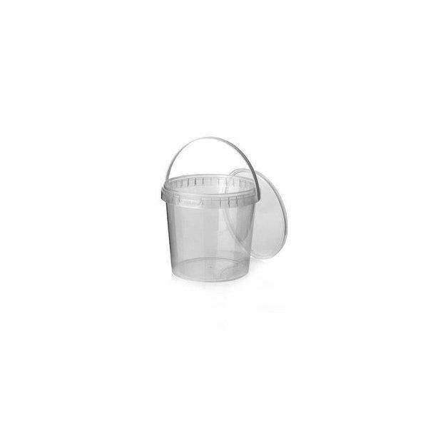PP Cup Ø 165, met hengsel en garantiesluiting 2000 ml