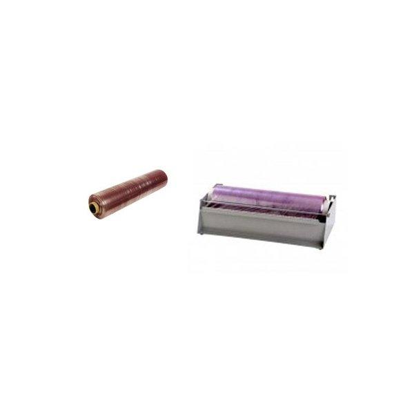 Dispenser refillrol 30cm metaal, per stuk
