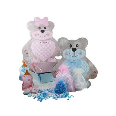 Baby gift tray boy / girl, 10 pieces