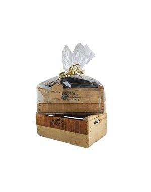 "Wooden boxe ""Coffee"" Set"