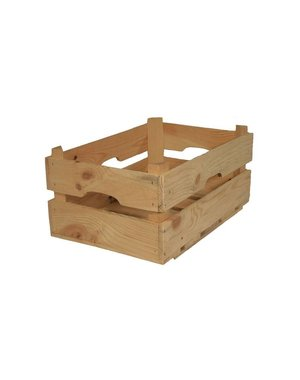 Houten kistje 34x20+12 cm
