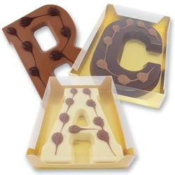 chocolate letter boxes