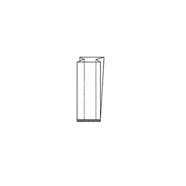 Diamantzak, 110+4x50x710mm, Ø 20 cm, Extra large