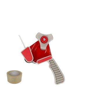 Tape dispenser Red, with brake