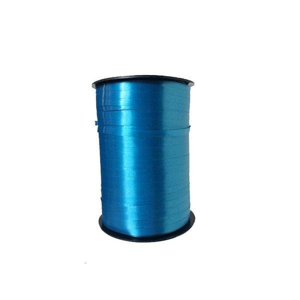 Krullint, Turquoise, 5 mm breed