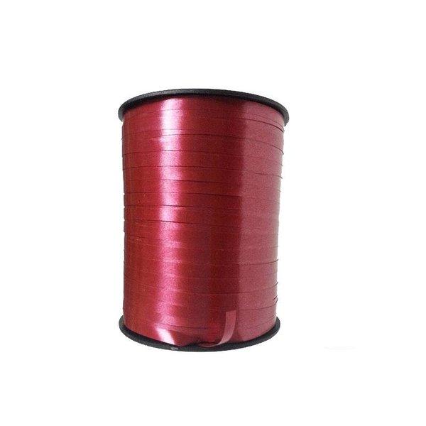 Krullint, Bordeaux, 5 en 10 mm breed