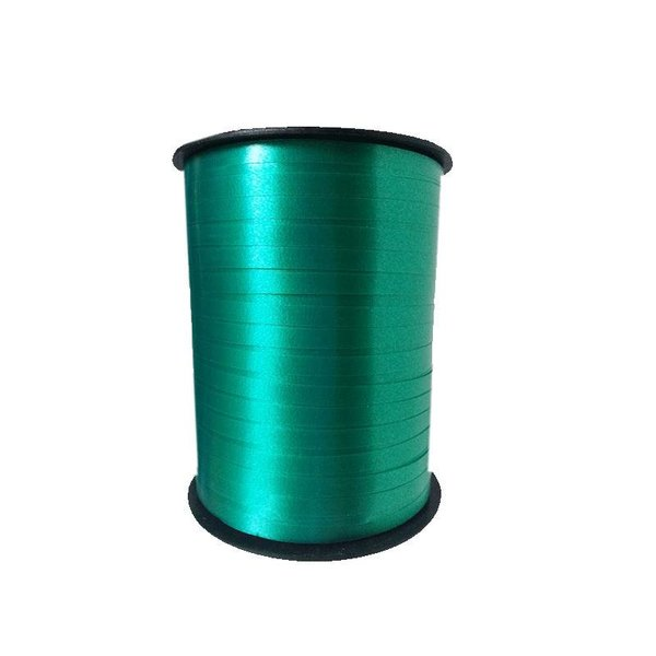 Krullint, Groen/Emerald, 5 mm breed