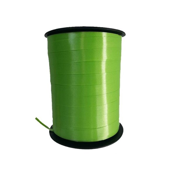 Krullint, Appel groen, 10 mm breed