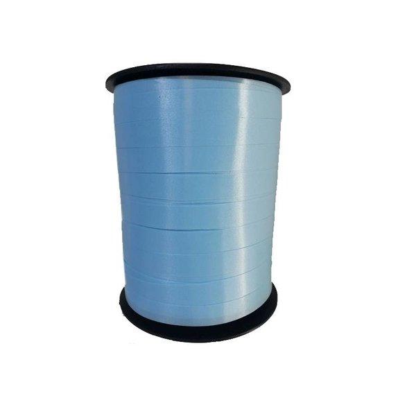 Krullint, Licht Blauw, 10 mm breed