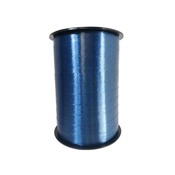 Krullint, Navy Blauw, 10 mm breed