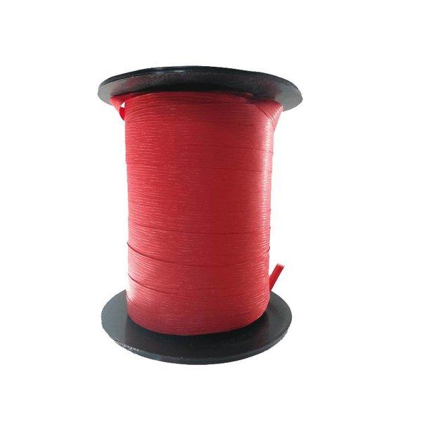Krullint, paperlook,rood, 7,5mm x 200m