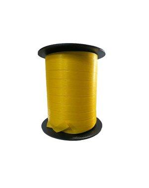 Krullint, paperlook, geel