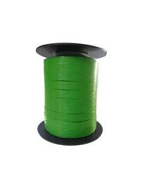 Curl ribbon, paper look, apple green