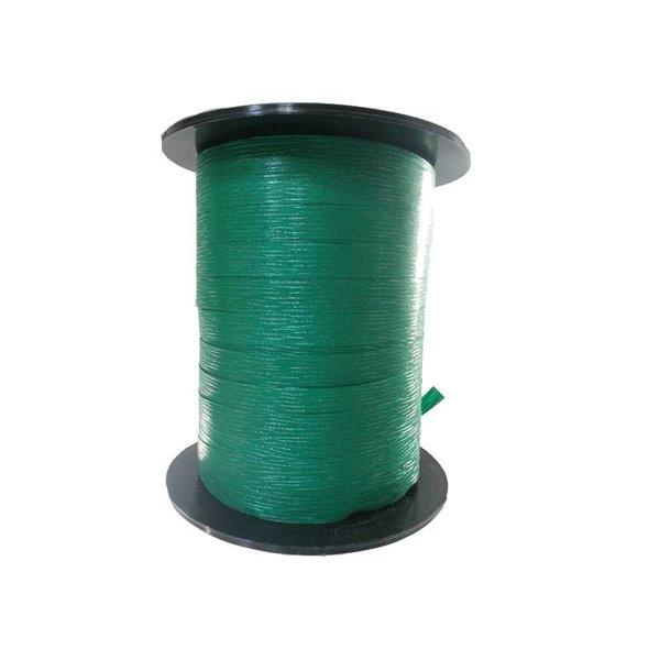 Krullint, paperlook, midden groen, 7,5mm x 200m