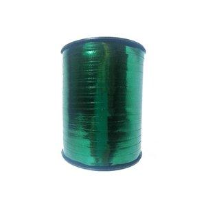 Krullint, donker groen metallic